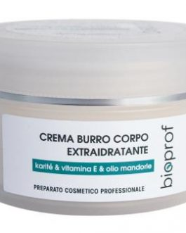CREMA BURRO CORPO EXTRAIDRATANTE KARITE' & VITAMINA E & OLIO MANDORLE 250ML