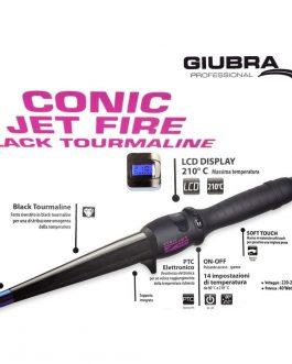 CONIC JET FIRE BLACK TOURMALINE